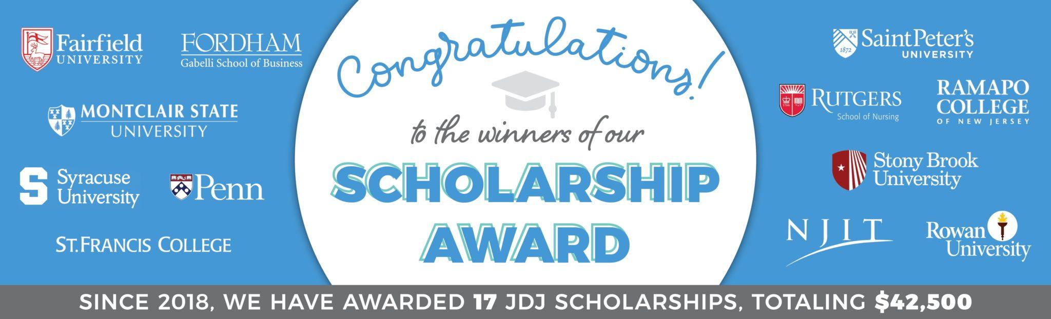 JDJ Scholarship WebBanner